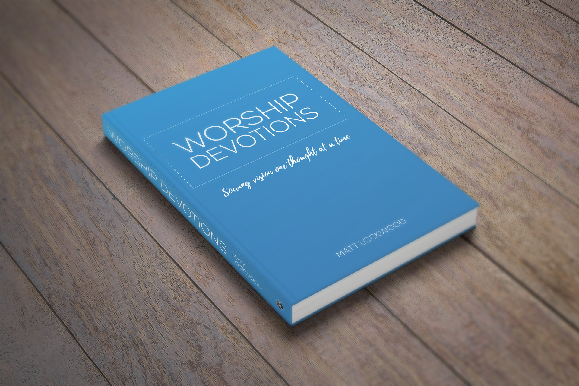 Worship Devotions book (mock up)